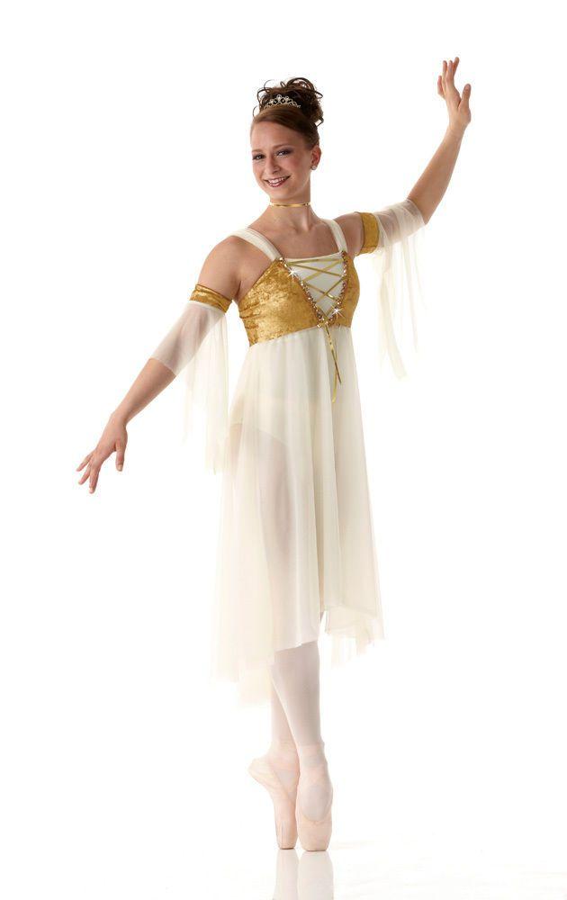 Everlasting Lyrical Fairy Dress Christmas Dance Costume