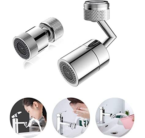 720 degree swivel sink faucet aerator