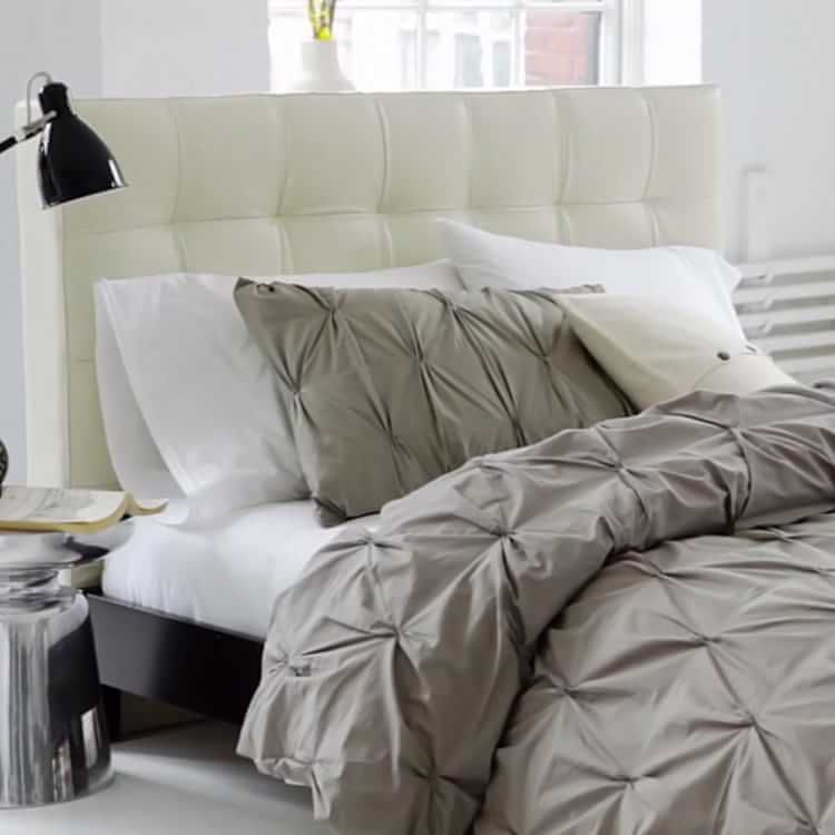 Tall Grid-Tufted Headboard | west elm | For the Home | Pinterest ...