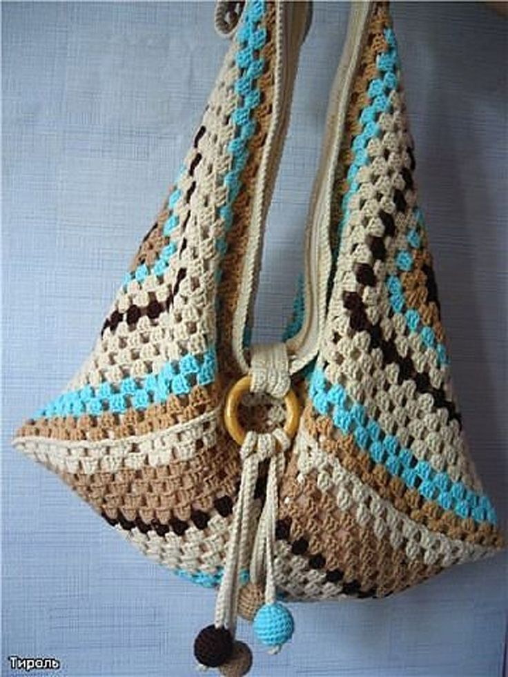 Top 10 Gorgeous Crochet Patterns for Handbags | Gehäkelte taschen ...