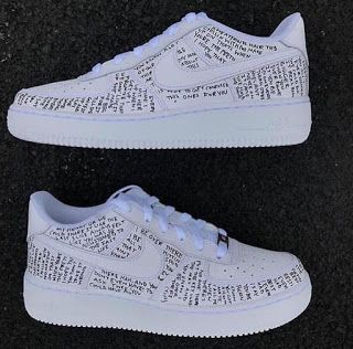 LK Custom Nike AF1 Low [Additional lace colors available]