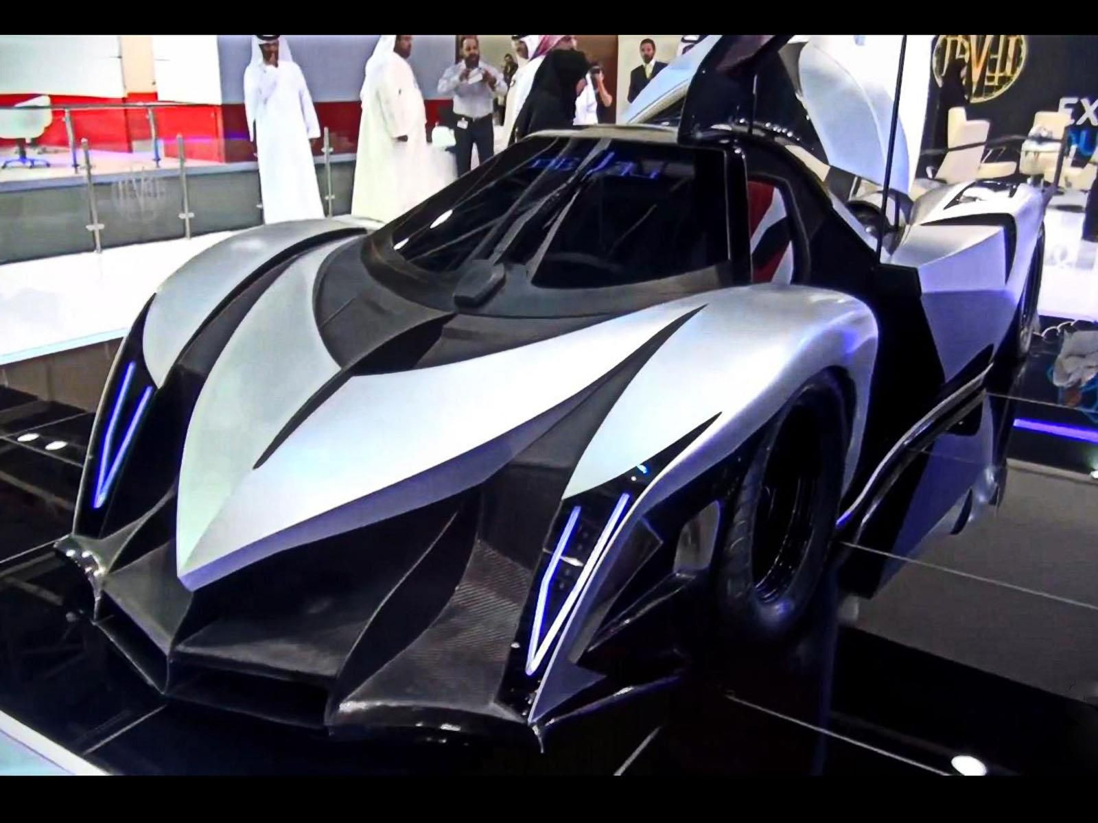 Devel Sixteen CV A Kmh Autocosmoscom Carts And - Cool cars 5000