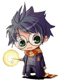 Chibi Harry Potter Desenhos Harry Potter Harry Potter Anime