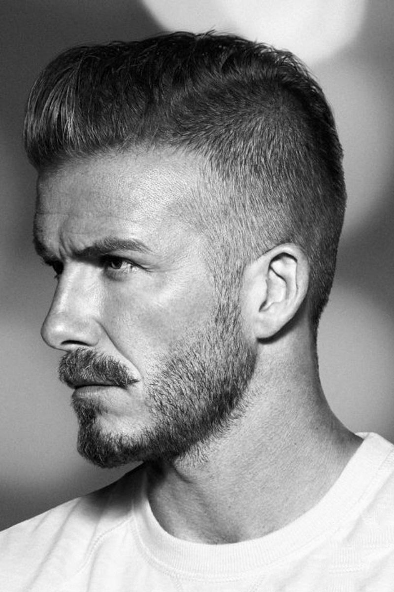 David Beckham Hotness Celebrity Hair Hair Styles Beckham Haircut