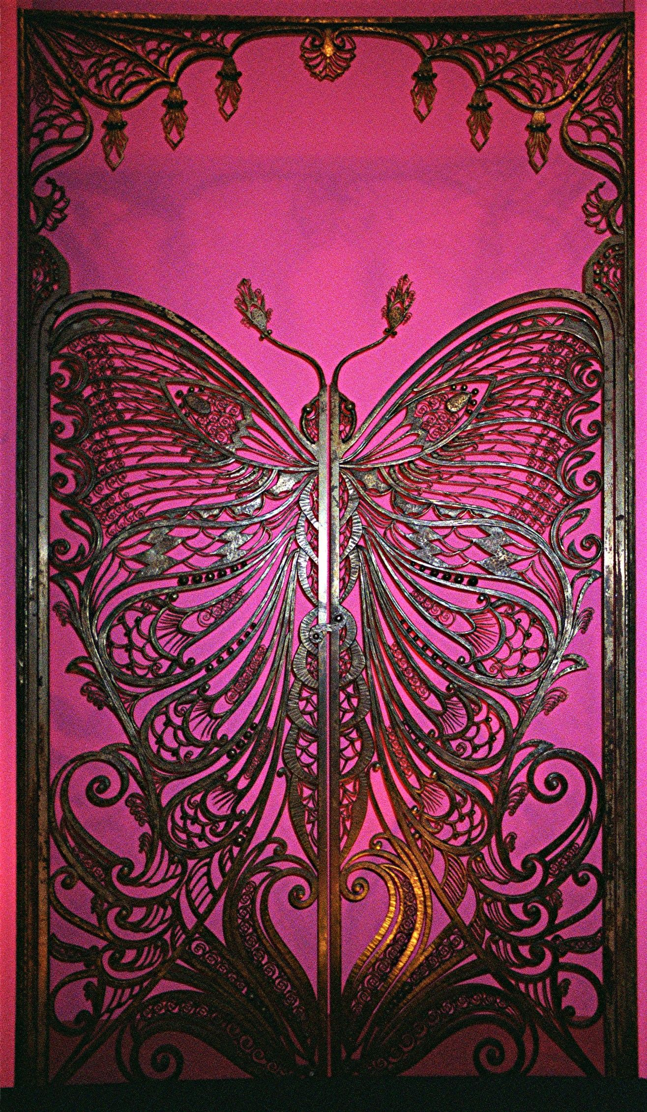 Butterfly Gate – Brooklyn Museum  #bohemian #decor