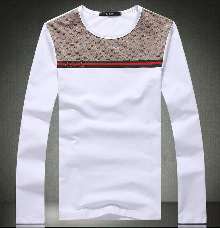 a6a510c2761 GUCCI Men Long Sleeve Tee POILLTSM018 cheap price