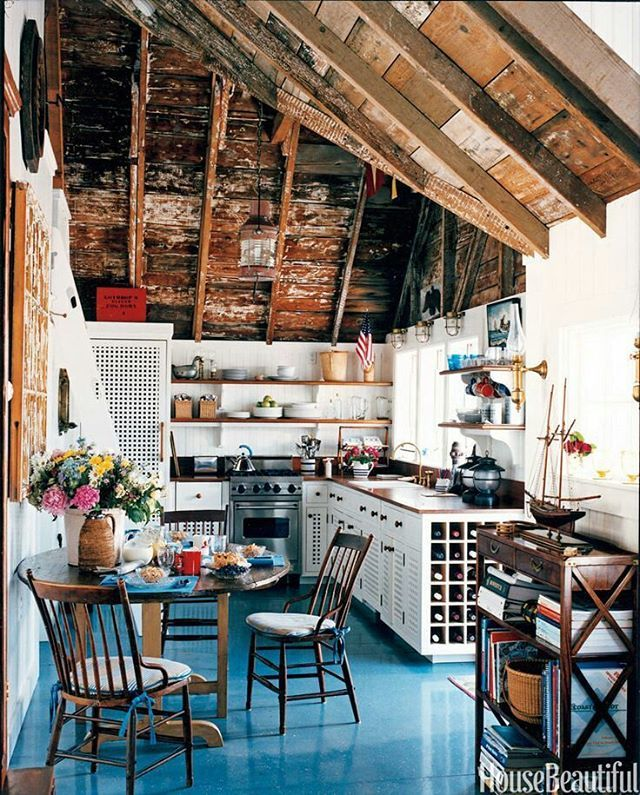 Gary Mcbournie S Nantucket Beach Cottage: Interior Design By Jemima Kirke #bohemiandecor
