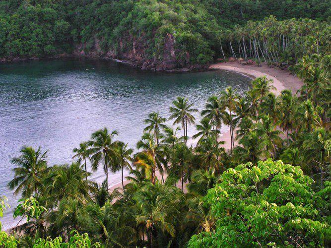 Playa Medina. Río Caribe, estado Sucre,Venezuela.