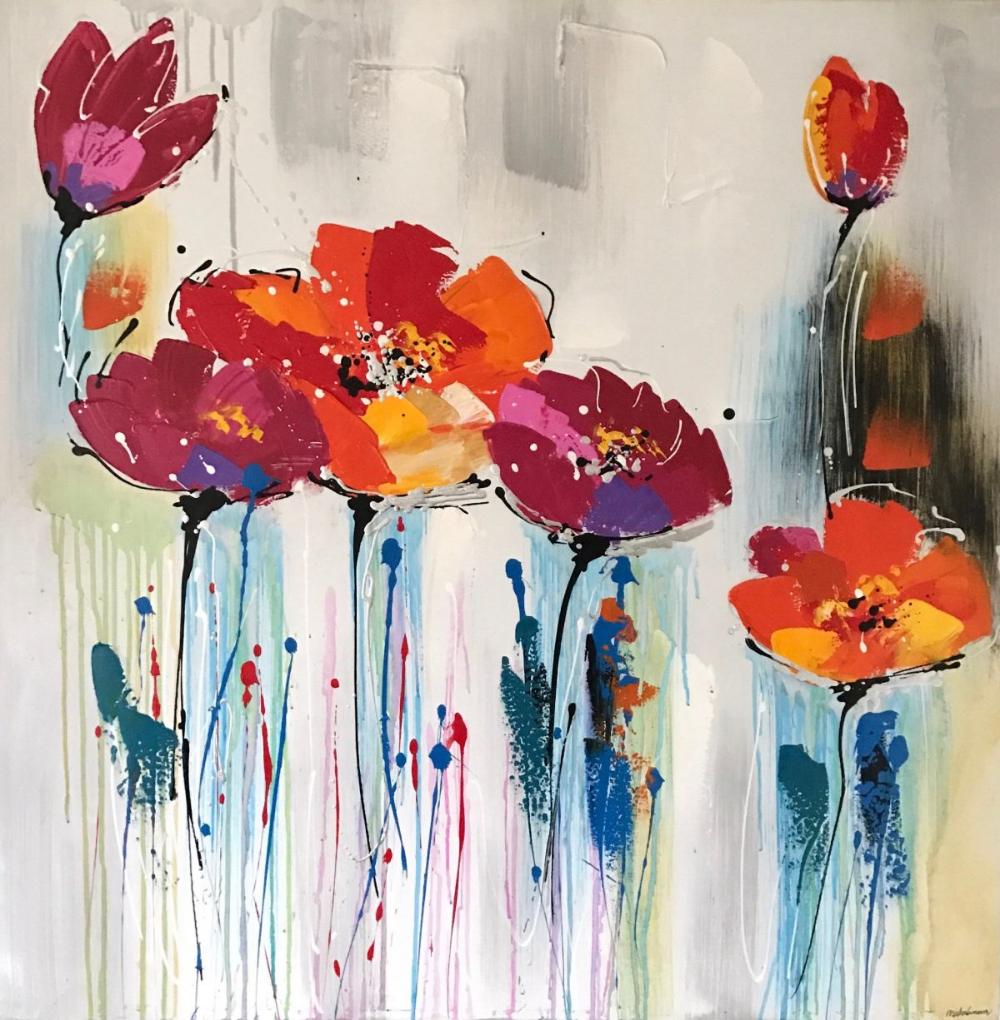 Cryingflowers Kunstverk Kunstideer Maleri