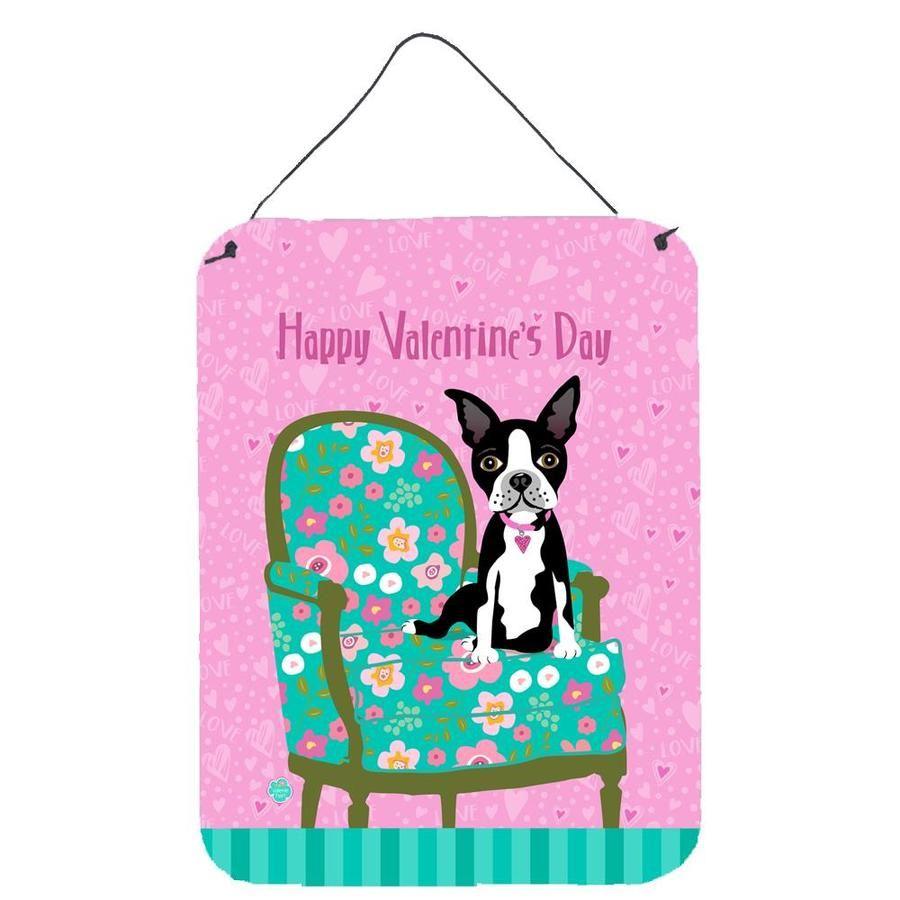 Caroline S Treasures Frameless 16 In H X 12 In W Animals Metal Print Lowes Com In 2021 Boston Terrier Illustration Boston Terrier Artwork Boston Terrier