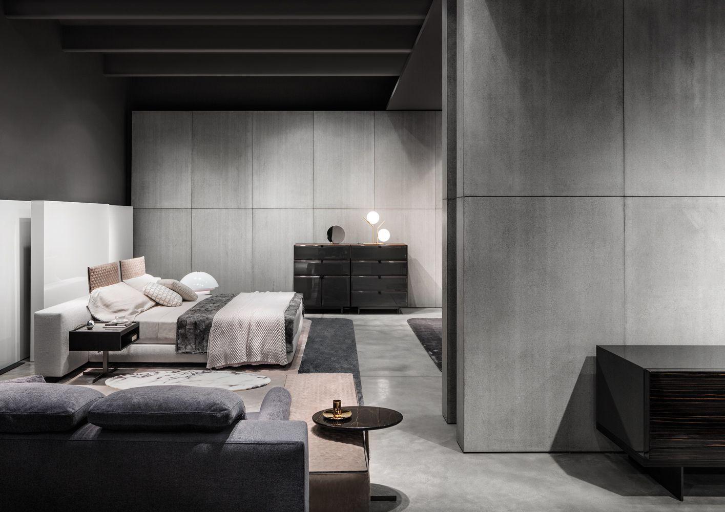 Furniture Design News minotti showroom, milan, italy | the minotti's milan showroom is