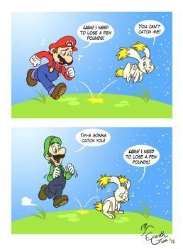 Mario Vs Luigi Super Mario Galaxy Mario Funny Mario