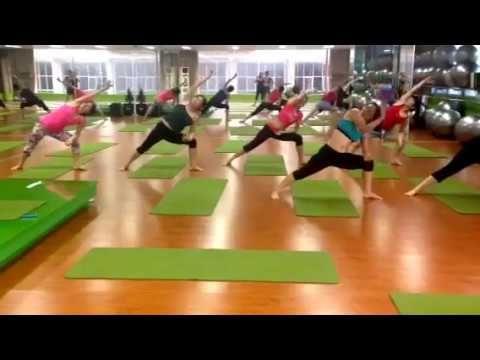 múa yoga rhythmic yoga tum hi ho  youtube  yoga dance