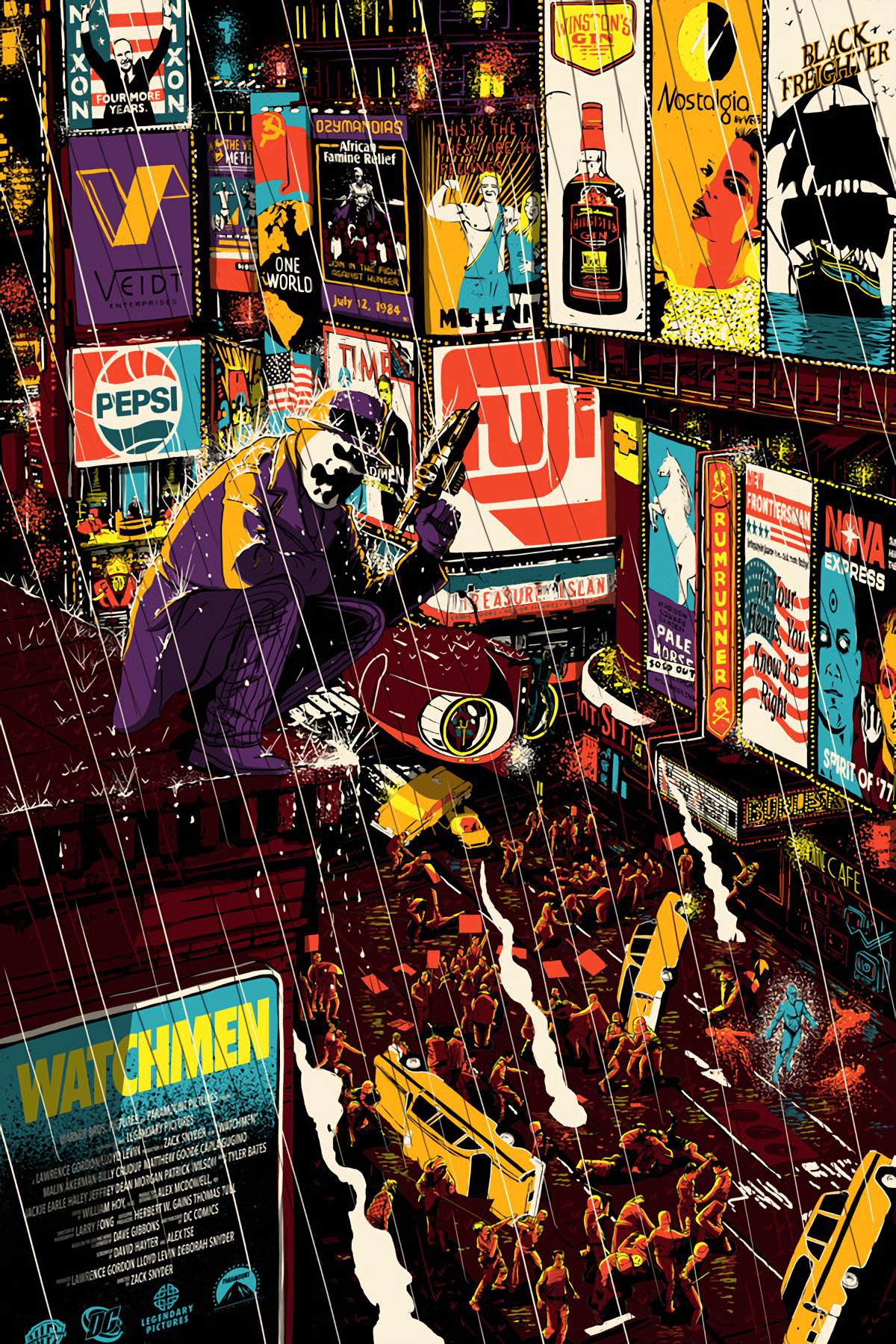 Rupertbbare Watchmen Comics Artwork Superhero Comic