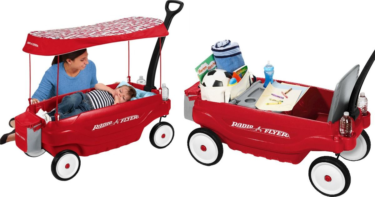 Radio Flyer Ultimate Comfort Wagon Only 102.49 Shipped