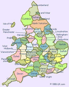 Map Of Counties In England 2020.The Counties Of England Must Keep This For Future Reference