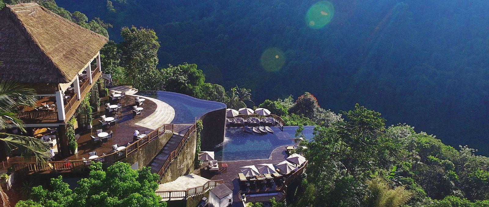 Official Site Hanging Gardens Bali Ubud 7 Star Hotel Resort Villas Spa Hotel Swimming Pool Jungle Resort Romantic Resorts