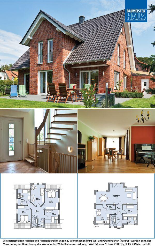 Haus oswald ländlicher charme auf ca 262 m2 klinker natürlich schön mit seinen roten klinkern den weißen fensterrahmen und der weißen stilvollen