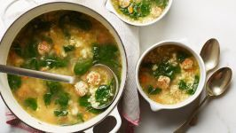 Italian Wedding Soup #italianweddingsoup