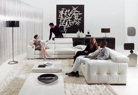 Die besten Ideen für schwarz weiße Wohnzimmer Wohnzimmer Designs