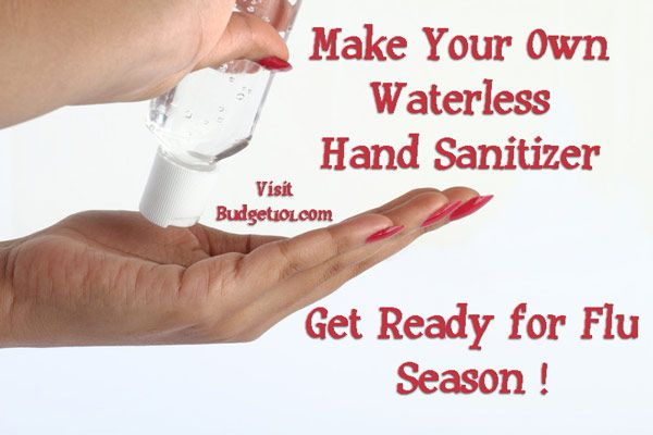 Homemade Waterless Hand Sanitizer Hand Sanitizer Essential Oils