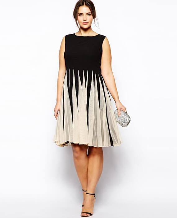 O Neck A Line Ruffle Hit Color Dress Ruffles And Products