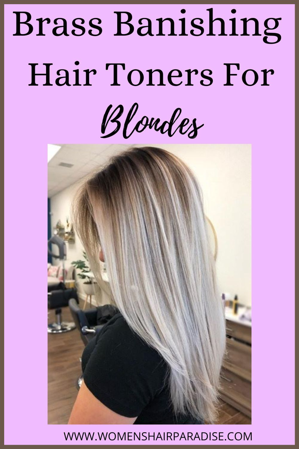6 Best Toners For Blonde Hair Women S Hair Paradise In 2020 Cool Blonde Hair Toner For Blonde Hair Easy Hairstyles For Long Hair