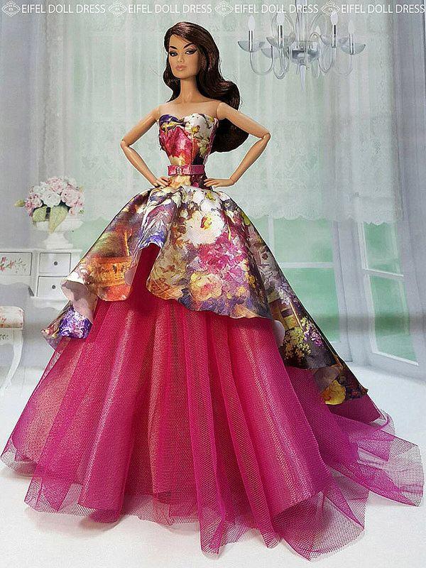 New Dress for sell EFDD | dolls | Pinterest | Dolls, Barbie doll and ...