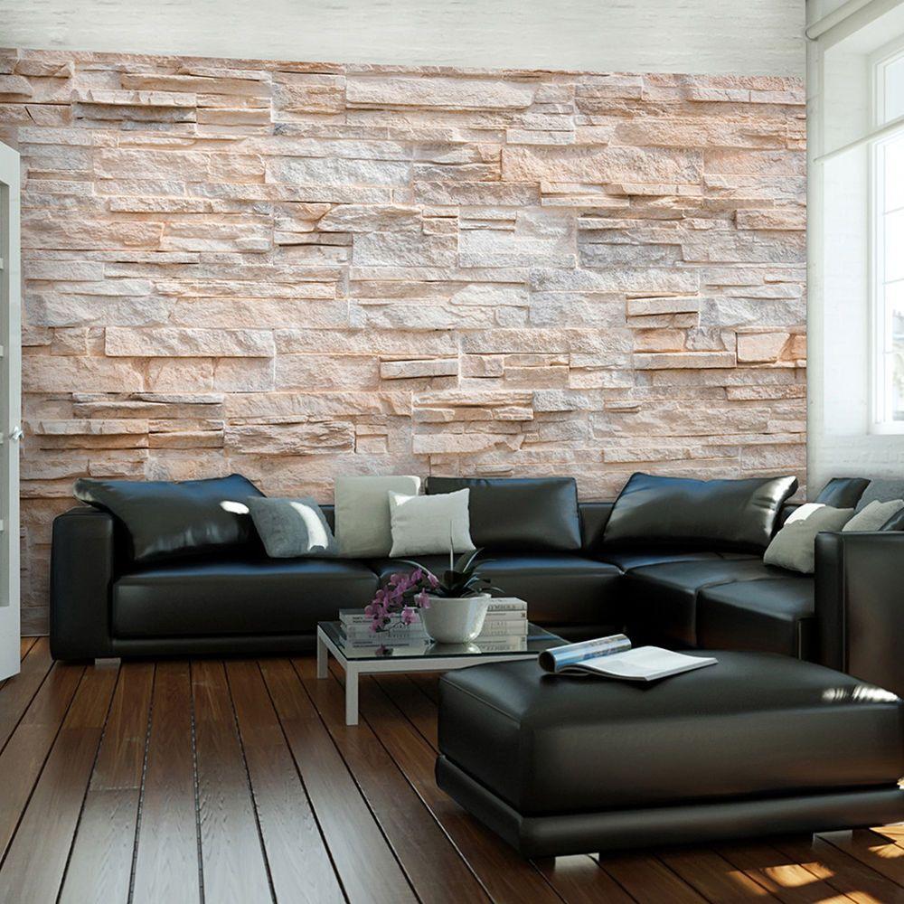 Tapete Wandbild details zu vlies fototapete steinoptik sandstein steinwand 3d tapete