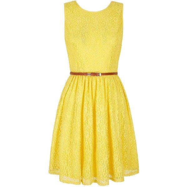 Yumi lace front dress