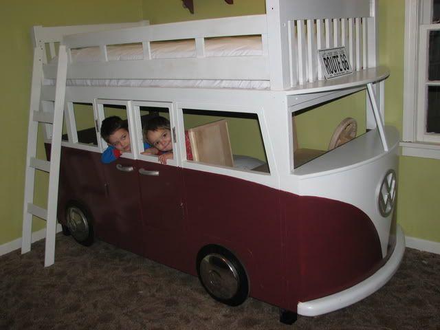 VW Bus Bunk Beds