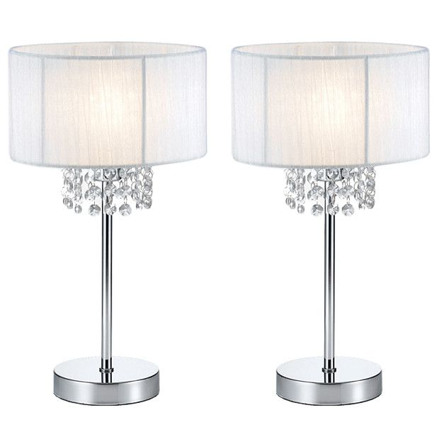 Target Table Lamps White Photo   7