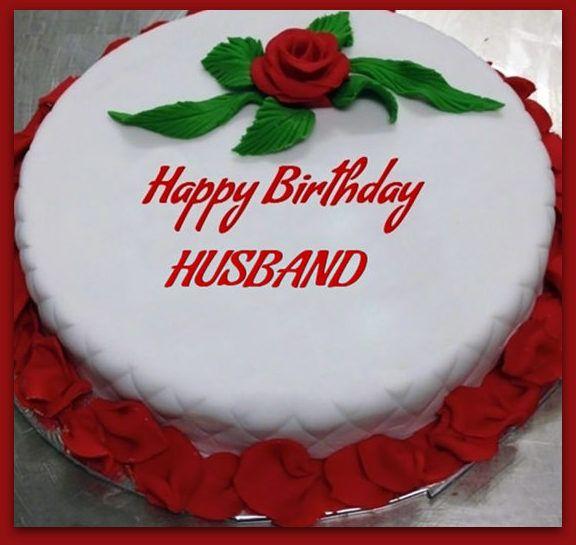 Happy Birthday Husband Cake Images Cards Birthday Happy