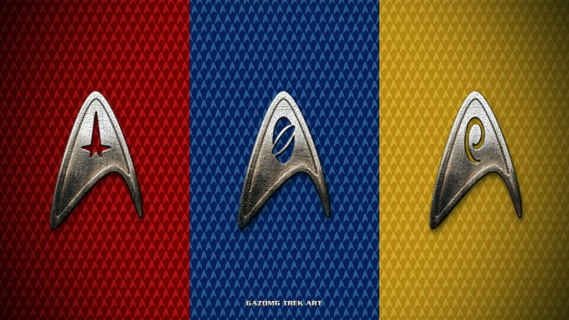 Star Trek Insignia Wallpaper by on