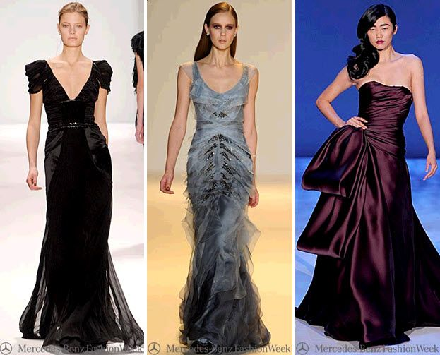 Versace Gowns New York Fashion Week Dresses Off The Runway Mercedes Benz