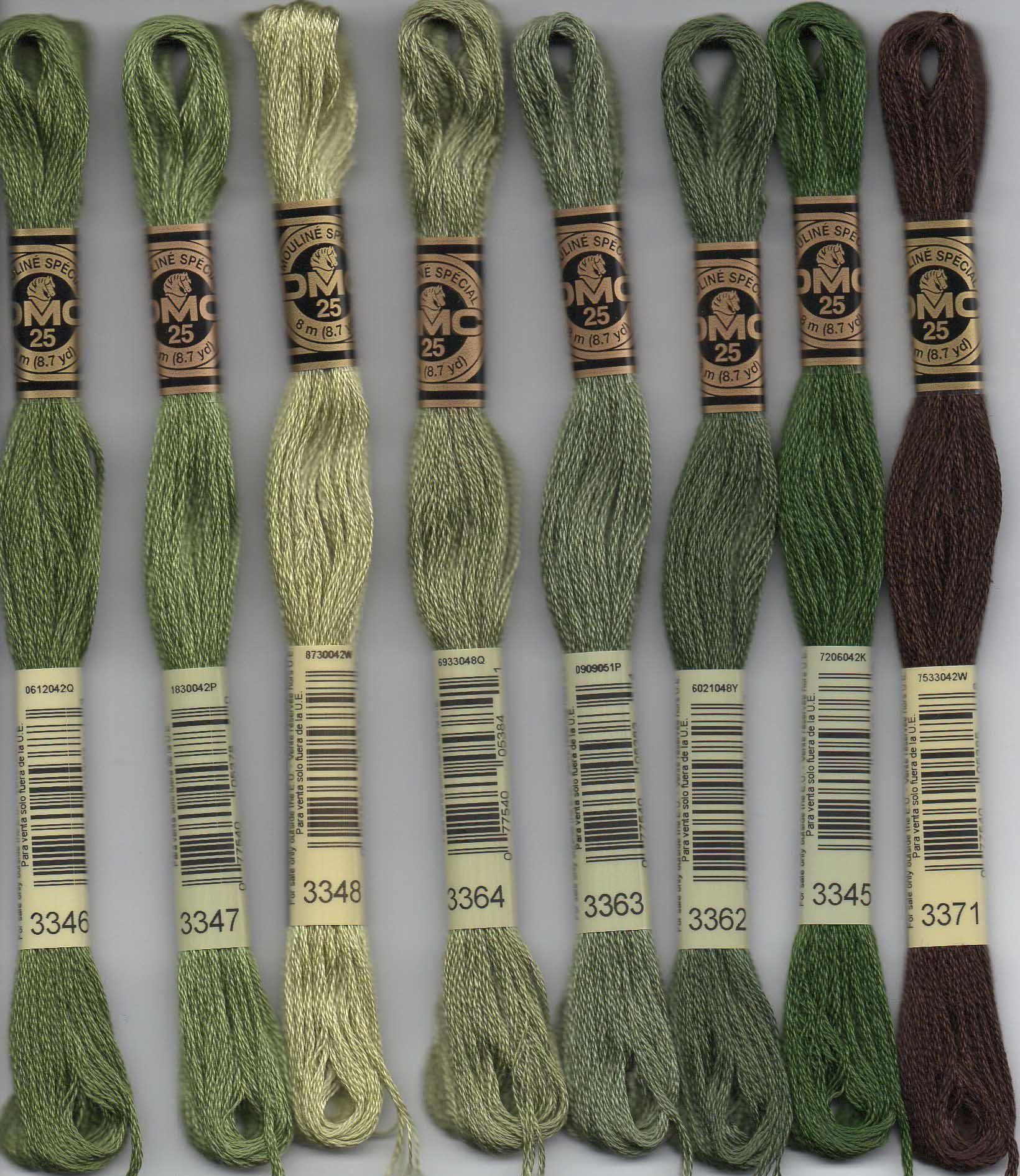 Stranded Cotton 3341 DMC Embroidery Thread
