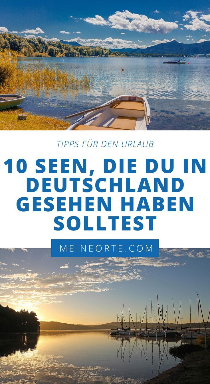 Photo of 10 LAKES YOU SHOULD SEE IN GERMANY