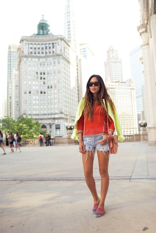 outfit inspo : unexpected neon