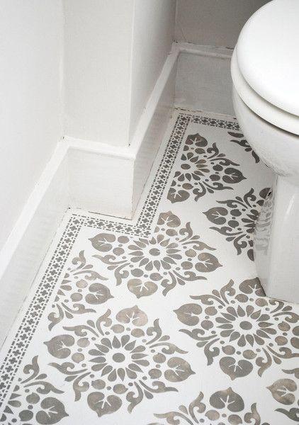 Tile Stencil 1 Tile Stencils For Diy Paint Your Tiles Yourself
