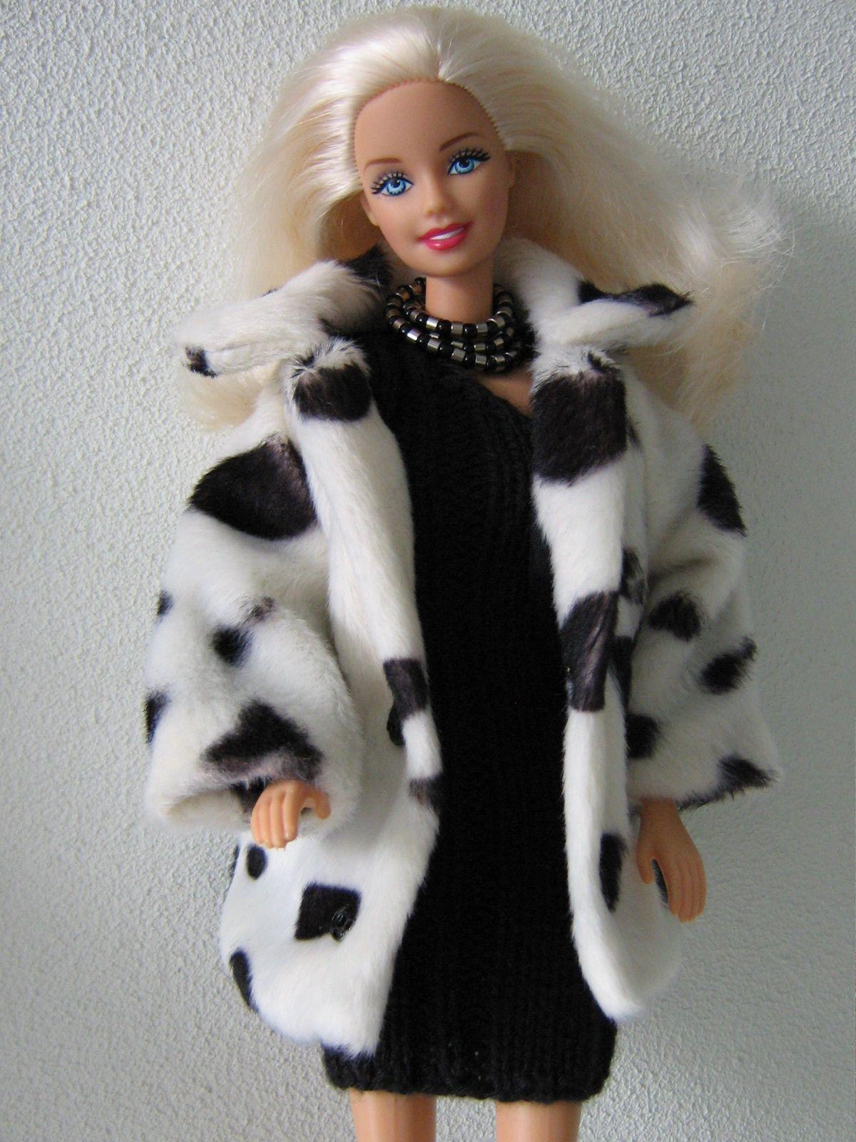 Bontjas voor Barbie