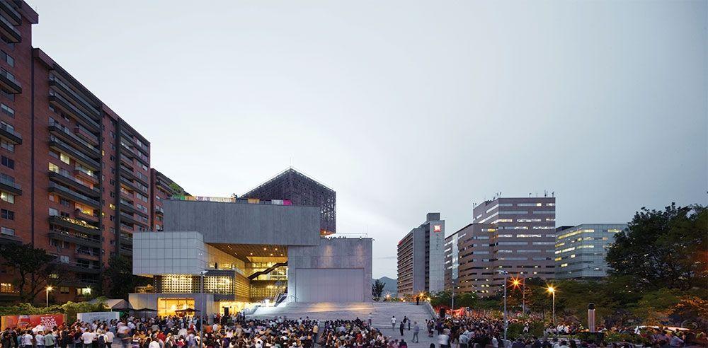 Segunda etapa Museo de Arte Moderno de Medellín.