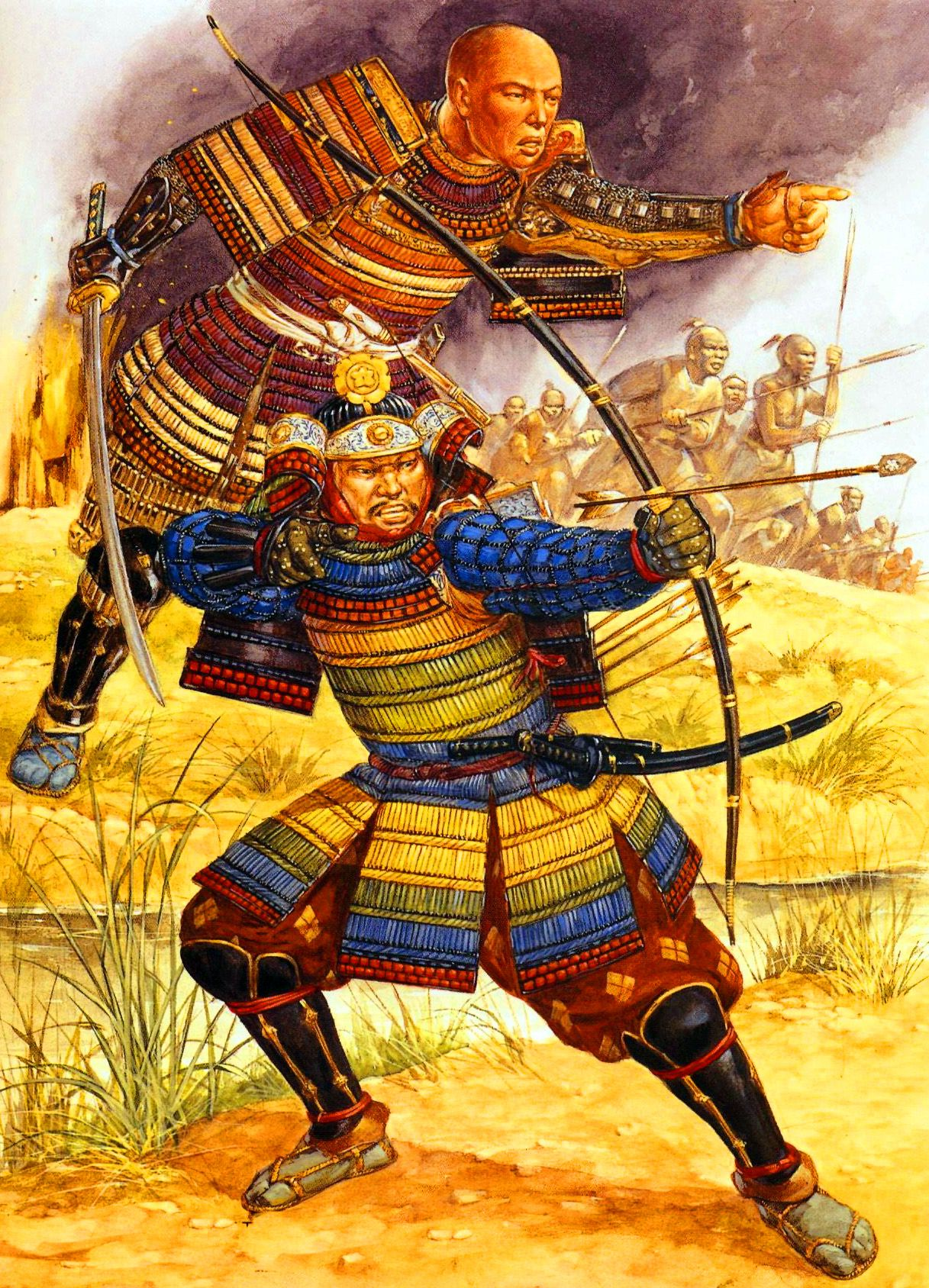 Samurai Commanders of the Onin war: Yamana Sozen Mochitoyo ...