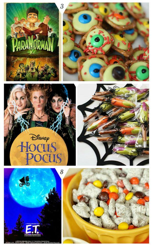 10 Halloween Movie Night Ideas Halloween Pinterest Halloween - halloween movie ideas