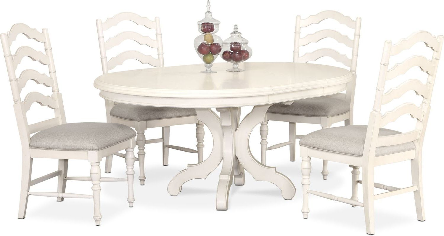 Dining Room Furniture  Charleston Round Dining Table And 4 Side Alluring Dining Room Table And Chairs For 4 Decorating Inspiration