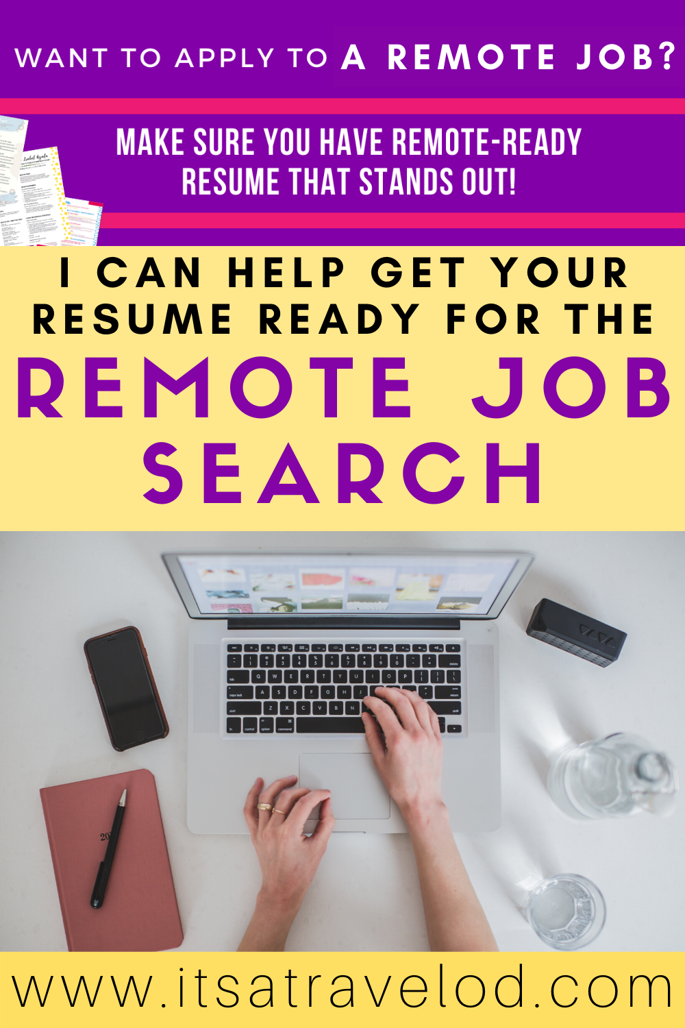 Remotify Your Resume It S A Travel O D Remote Jobs Resume Job Search Tips