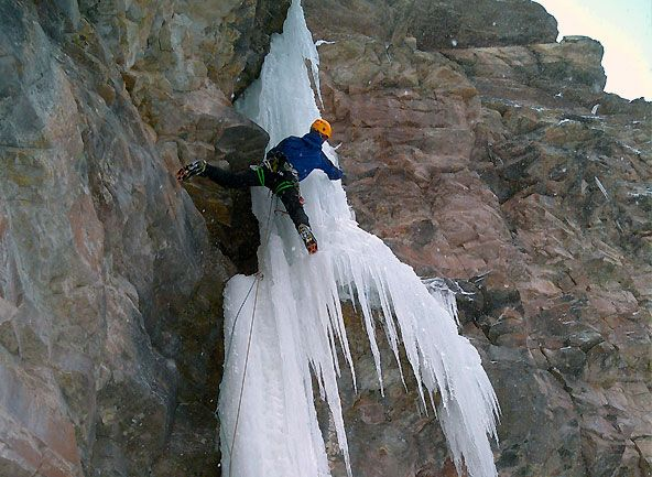 Ouray Ice Park in Colorado