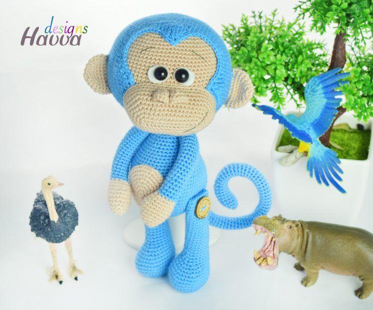 Amigurumi Monkey Crochet Pattern From Havva Designs Amigurumi
