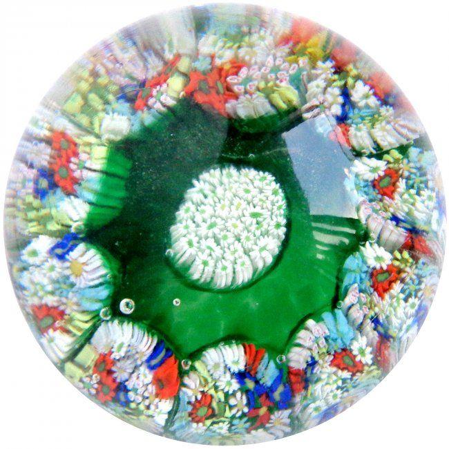 Fratelli Toso Murano Millefiori Wild Flowers