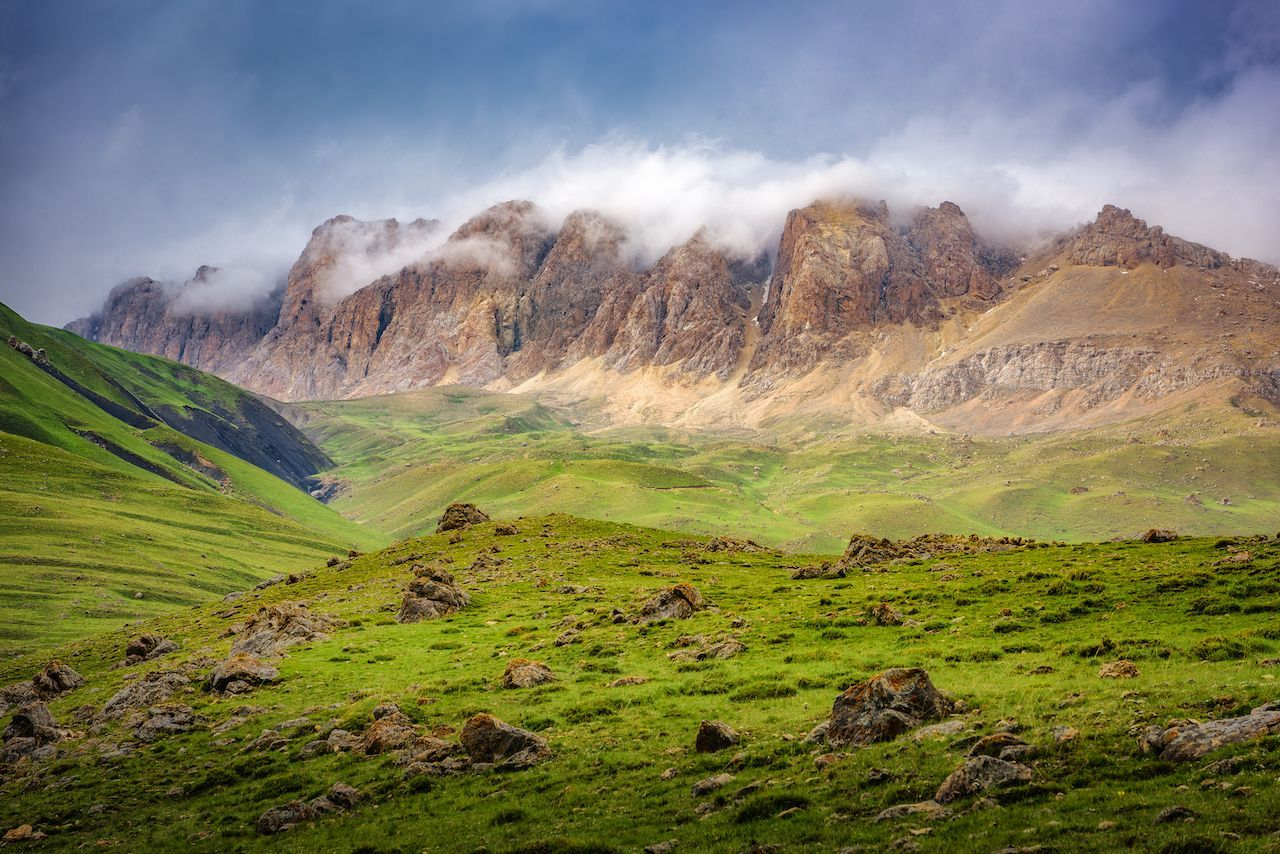 The best hiking in the Caucasus Mountains