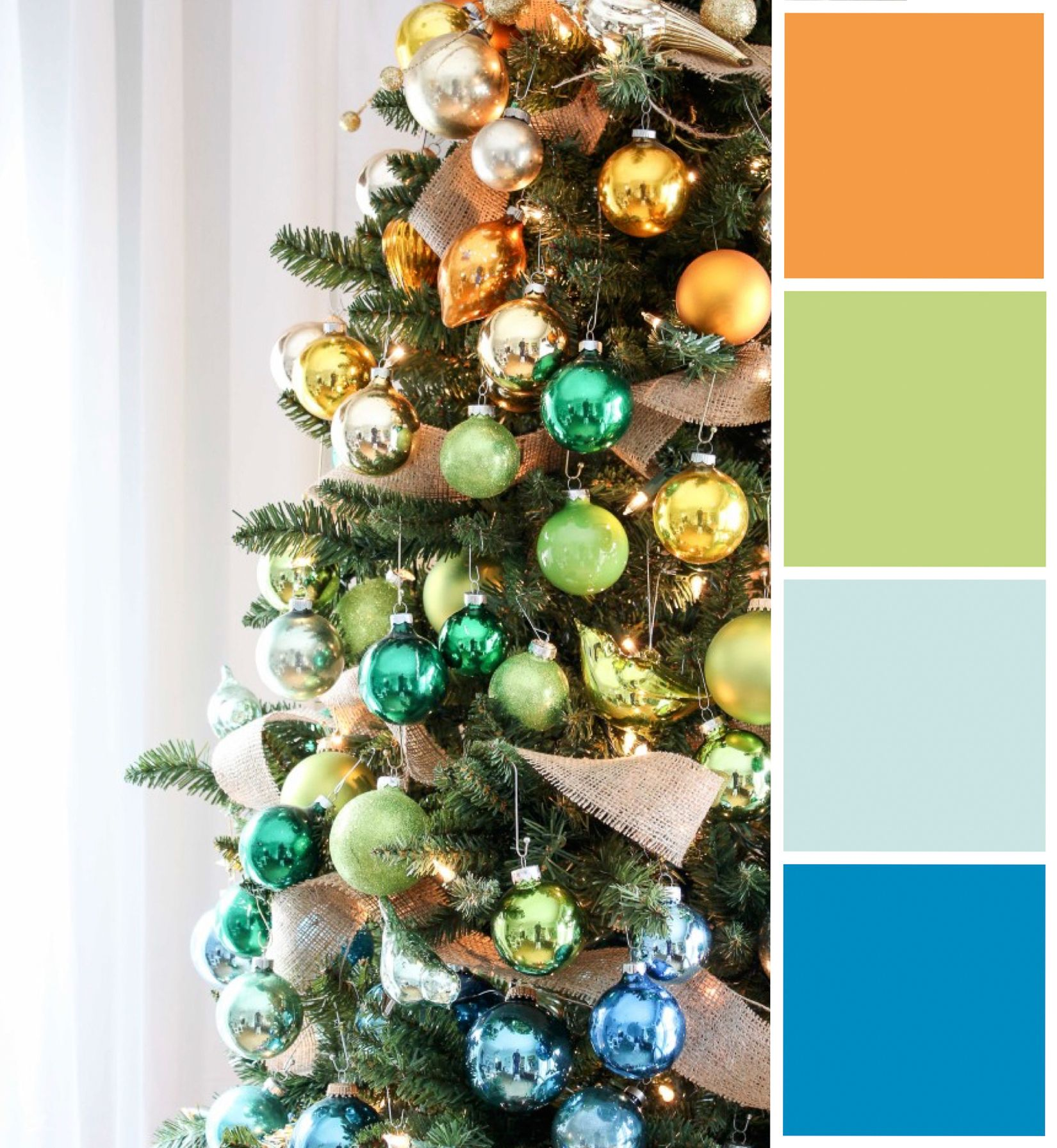 Citrus & pine inspired this punchy holiday collection. Colors ...